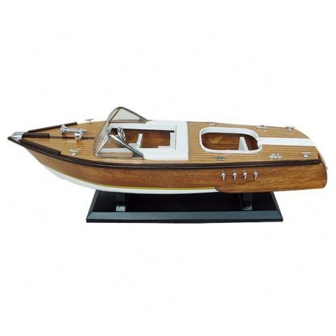 Model lode - motorový čln 50x15cm