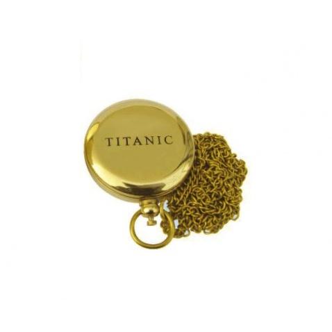 """Kompas na retiazke s nápisom """"Titanic"""""""