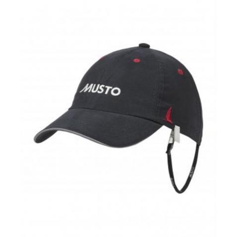 Šiltovka MUSTO Fast dry cap black