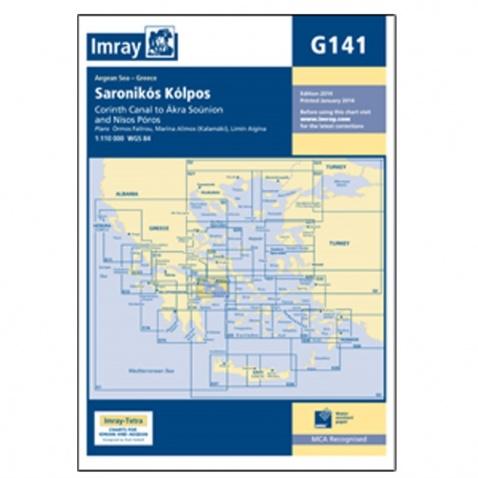 Mapa G141 Saronikós Kólpos