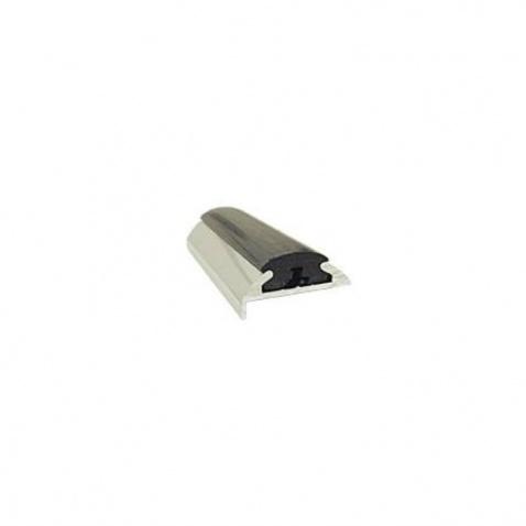 Oděrový profil PVC typ 68,  černý, délka 19m