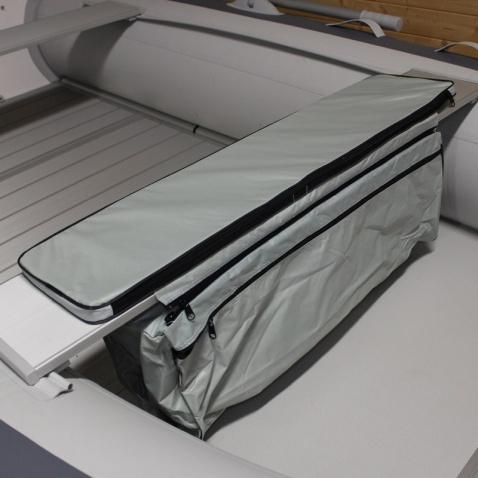Kapsa na nafukovací člun(380) pod lavičku s polstrováním, d.lavičky 100cm