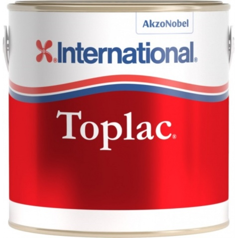 Farba vrchná  TOPLAC - weiss 545, 0,375l