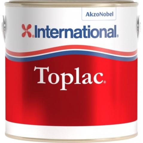 Farba vrchná INTERNATIONAL TOPLAC - modrá 018, 0,750l
