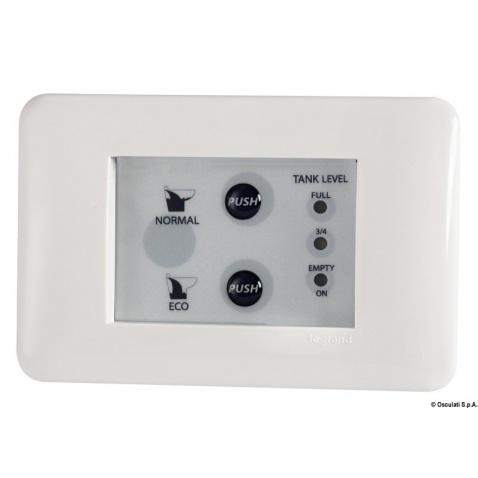 Ovládací panel k WC